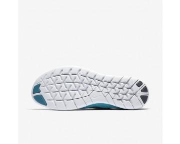 Chaussure Nike Free Rn Flyknit 2017 Pour Homme Running Bleu Lagon/Bleu Légende/Bleu Polarisé/Platine Pur_NO. 880843-400