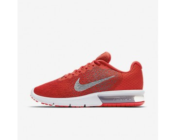 Chaussure Nike Air Max Sequent 2 Pour Homme Running Orange Max/Gris Froid/Rouge Université/Gris Froid Métallique_NO. 852461-800