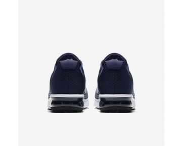 Chaussure Nike Air Max Sequent 2 Pour Homme Running Bleu Binaire/Bleu Lune/Bleu Arsenal Clair/Blanc_NO. 852461-400