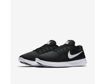 Chaussure Nike Free Rn 2017 Pour Homme Running Noir/Gris Foncé/Anthracite/Blanc_NO. 880839-003