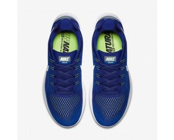 Chaussure Nike Free Rn 2017 Pour Homme Running Bleu Royal Profond/Jaillir/Vert Ombre/Blanc_NO. 880839-401