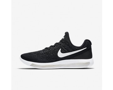 Chaussure Nike Lunarepic Low Flyknit 2 Pour Homme Running Noir/Anthracite/Blanc_NO. 863779-001