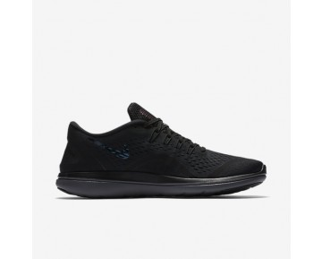 Chaussure Nike Flex 2017 Rn Sense Pour Homme Running Noir/Gris Foncé/Gris Foncé_NO. 898458-001