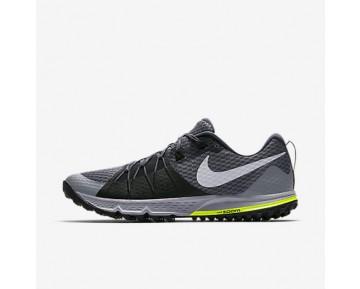Chaussure Nike Air Zoom Wildhorse 4 Pour Homme Running Gris Foncé/Noir/Discret/Gris Loup_NO. 880565-001