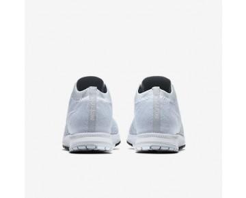 Chaussure Nike Zoom Flyknit Streak Pour Homme Running Platine Pur/Noir/Blanc_NO. 835994-002