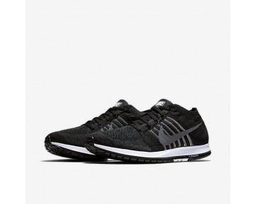 Chaussure Nike Zoom Flyknit Streak Pour Homme Running Noir/Blanc/Gris Foncé_NO. 835994-010