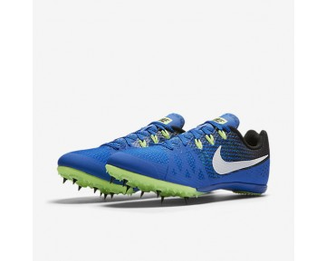 Chaussure Nike Zoom Rival M 8 Pour Homme Running Hyper Cobalt/Noir/Vert Ombre/Blanc_NO. 806555-413