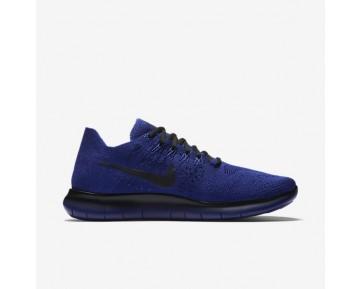 Chaussure Nike Lab Gyakusou Free Rn Flyknit 2017 Pour Homme Running Bleu Royal Profond/Bleu Royal Profond/Noir_NO. 883287-400
