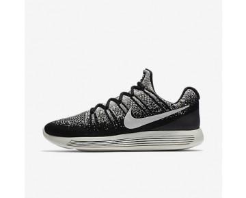 Chaussure Nike Lab Gyakusou Lunarepic Low Flyknit 2 Pour Homme Running Noir/Renard Bleu/Renard Bleu/Voile_NO. 880283-001