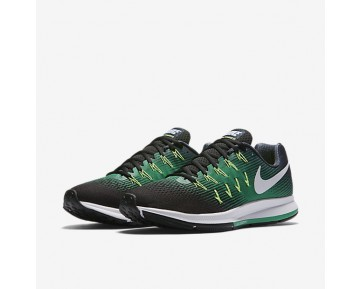 Chaussure Nike Air Zoom Pegasus 33 Pour Homme Running Marine Arsenal/Noir/Vert Stade/Blanc_NO. 831352-405