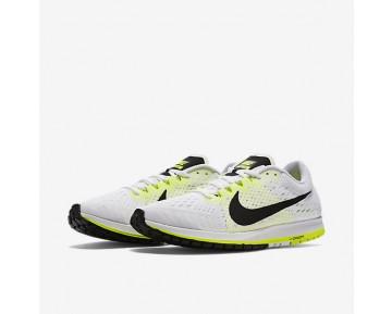 Chaussure Nike Zoom Streak 6 Pour Homme Running Blanc/Volt/Noir_NO. 831413-107