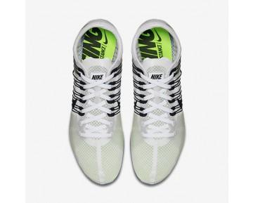 Chaussure Nike Zoom Victory 2 Pour Homme Running Blanc/Bleu Coureur/Noir_NO. 555365-100