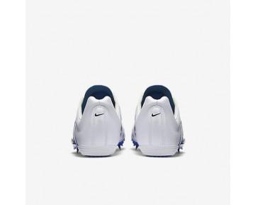 Chaussure Nike Zoom Maxcat 4 Pour Homme Running Blanc/Bleu Coureur/Noir_NO. 549150-100