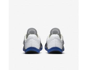 Chaussure Nike Triple Jump Elite Pour Homme Running Blanc/Bleu Coureur/Noir_NO. 705394-100