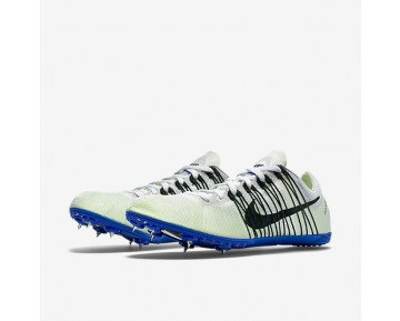 Chaussure Nike Zoom Victory Elite Pour Homme Running Blanc/Bleu Coureur/Noir_NO. 526627-100