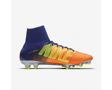 Chaussure Nike Mercurial Superfly V Fg Pour Homme Football Bleu Royal Profond/Cramoisi Total/Zeste D'Agrumes/Chrome_NO. 831940-408