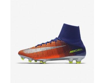 Chaussure Nike Mercurial Superfly V Fg Pour Homme Football Bleu Royal Profond/Cramoisi Total/Zeste D'Agrumes/Chrome_NO. 831940-408