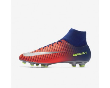 Chaussure Nike Mercurial Victory Vi Dynamic Fit Fg Pour Homme Football Bleu Royal Profond/Cramoisi Total/Zeste D'Agrumes/Chrome_NO. 903609-409