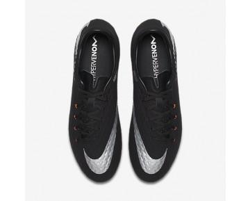 Chaussure Nike Hypervenom Phelon 3 Fg Pour Homme Football Noir/Noir/Anthracite/Argent Métallique_NO. 852556-001