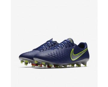 Chaussure Nike Magista Opus Ii Pour Homme Football Bleu Royal Profond/Cramoisi Total/Zeste D'Agrumes/Chrome_NO. 843813-409