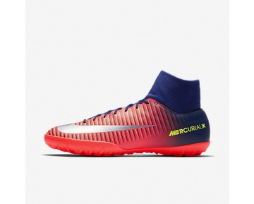 Chaussure Nike Mercurialx Victory Vi Tf Pour Homme Football Bleu Royal Profond/Cramoisi Total/Zeste D'Agrumes/Chrome_NO. 903614-409
