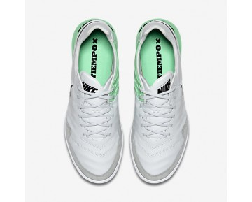 Chaussure Nike Tiempox Proximo Ic Pour Homme Football Platine Pur/Vert Electro/Noir_NO. 843961-004