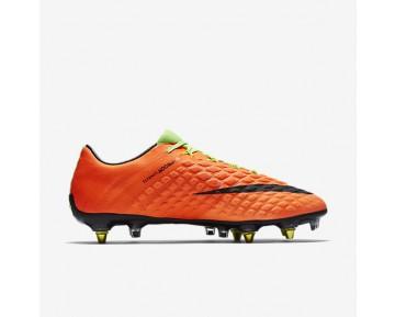 Chaussure Nike Hypervenom Phantom 3 Sg-Pro Anti-Clog Pour Homme Football Vert Électrique/Hyper Orange/Volt/Noir_NO. 889285-303