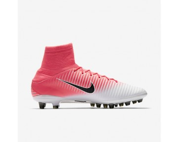 Chaussure Nike Mercurial Veloce Iii Dynamic Fit Ag-Pro Pour Homme Football Rose Coureur/Blanc/Noir_NO. 831960-601