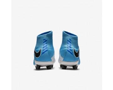 5f98b394e23c Chaussure Nike Hypervenom Phatal 3 Df Ag-Pro Pour Homme Football Blanc/Bleu  Photo