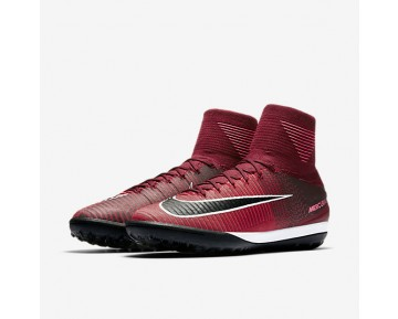 Chaussure Nike Mercurialx Proximo Ii Tf Pour Homme Football Rouge Équipe/Rose Coureur/Blanc/Noir_NO. 831977-606