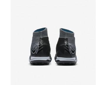 Chaussure Nike Hypervenomx Proximo Ii Dynamic Fit Tf Pour Homme Football Gris Loup/Bleu Chlorine/Noir_NO. 852576-004