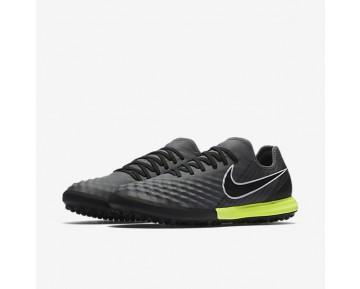 Chaussure Nike Magistax Finale Ii Tf Pour Homme Football Gris Foncé/Blanc/Volt/Noir_NO. 844446-001