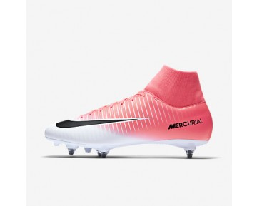 Chaussure Nike Mercurial Victory Vi Dynamic Fit Sg Pour Homme Football Rose Coureur/Blanc/Noir_NO. 903610-601
