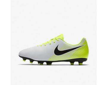 Chaussure Nike Magista Ola Ii Fg Pour Homme Football Blanc/Volt/Gris Loup/Noir_NO. 844420-107