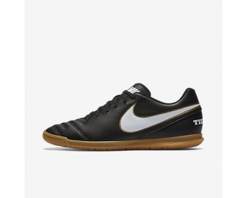 Chaussure Nike Tiempo Rio Iii Ic Pour Homme Football Noir/Blanc_NO. 819234-010