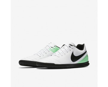 Chaussure Nike Tiempo Rio Iii Ic Pour Homme Football Blanc/Vert Electro/Noir_NO. 819234-103