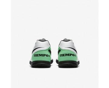 Chaussure Nike Tiempo Rio Iii Ic Pour Homme Football Blanc/Vert Electro/Noir_NO. 819234-103