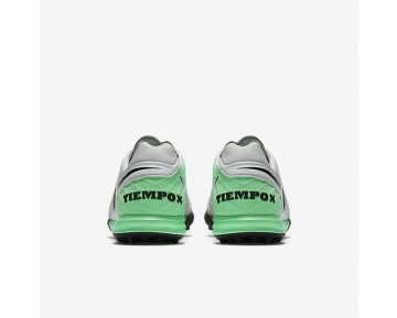 Chaussure Nike Tiempox Proximo Tf Pour Homme Football Platine Pur/Vert Electro/Noir_NO. 843962-004