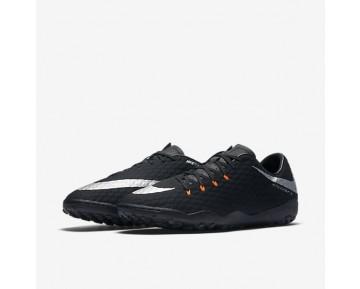 Chaussure Nike Hypervenomx Phelon 3 Tf Pour Homme Football Noir/Noir/Anthracite/Argent Métallique_NO. 852562-001