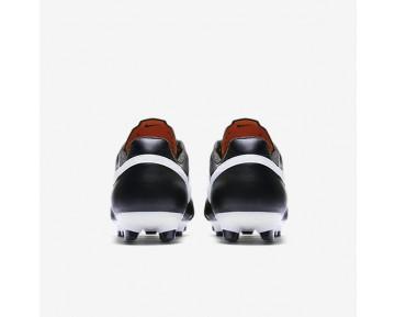 Chaussure Nike Premier Fg Pour Homme Football Noir/Flamme Orange/Blanc Sommet_NO. 599427-018
