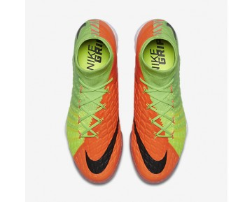 Chaussure Nike Hypervenomx Proximo Ii Dynamic Fit Tf Pour Homme Football Vert Électrique/Hyper Orange/Volt/Noir_NO. 852576-308