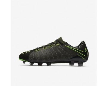 Chaussure Nike Hypervenom Phantom 3 Tech Craft Fg Pour Homme Football Noir/Séquoia/Vert Feuille De Palmier/Vert Électrique_NO. 852569-033
