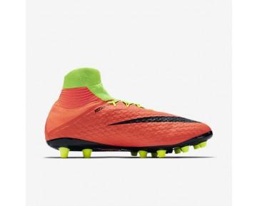 Chaussure Nike Hypervenom Phatal 3 Df Ag-Pro Pour Homme Football Vert Électrique/Hyper Orange/Volt/Noir_NO. 860644-308