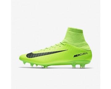 Chaussure Nike Mercurial Veloce Iii Dynamic Fit Fg Pour Homme Football Vert Électrique/Citron Flash/Blanc/Noir_NO. 831961-303