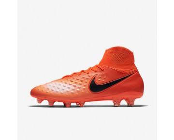 Chaussure Nike Magista Orden Ii Fg Pour Homme Football Cramoisi Total/Rouge Université/Mangue Brillant/Noir_NO. 843812-806