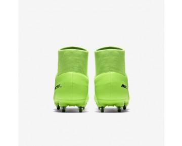 Chaussure Nike Mercurial Victory Vi Dynamic Fit Sg Pour Homme Football Vert Électrique/Citron Flash/Blanc/Noir_NO. 903610-303