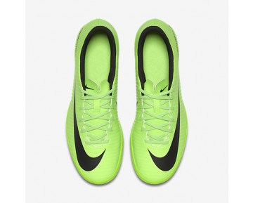 Chaussure Nike Mercurial Vortex Iii Ic Pour Homme Football Vert Électrique/Citron Flash/Blanc/Noir_NO. 831970-303