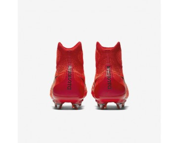 Chaussure Nike Magista Obra Ii Sg-Pro Pour Homme Football Cramoisi Total/Rouge Université/Mangue Brillant/Noir_NO. 844596-806