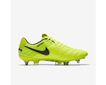 Chaussure Nike Tiempo Legend Vi Sg-Pro Pour Homme Football Volt/Volt/Noir_NO. 819680-707