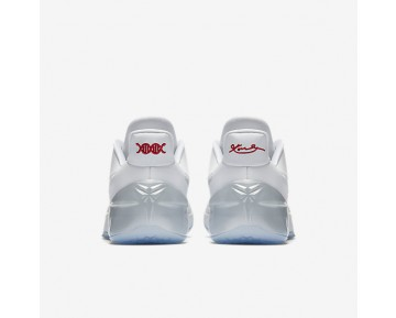 Chaussure Nike Kobe A.D. Pour Homme Basketball Blanc/Chrome_NO. 852425-110